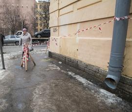 Сильный ветер и мороз испортят петербуржцам вторник