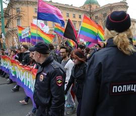 Суд еще раз запретил проводить гей-парад в Петербурге