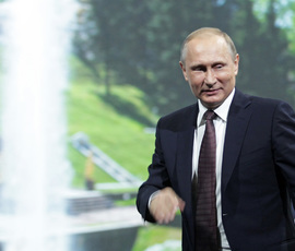 Кандидат в президенты Владимир Путин: от разведчика до главы государства