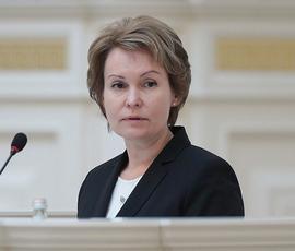 Вице губернатор Анна Митянина - антимем Смольного