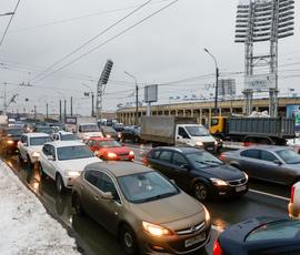 Водителей предупредили о разводке Тучкова моста