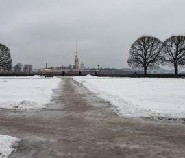 Петербуржцев ждет скользкая пятница