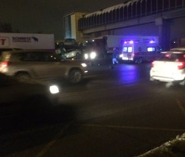 На Московском шоссе за вечер сбили насмерть двух человек