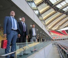 Пример полной финансовой независимости: Албину показали стадион в Сеуле