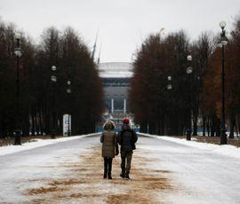 В Петербург приходят первые заморозки