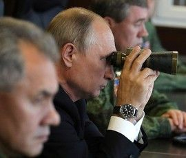 Владимир Путин наблюдал за российско-белорусскими учениями в Ленинградской области