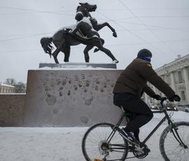 Петербург накроет мокрым снегом перед похолоданием