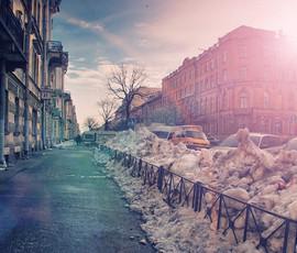 Ночью Петербург завалит снегом