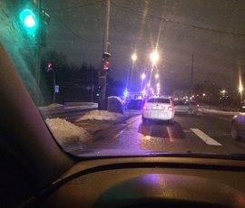 Двое детей пострадали в ДТП на Приморском шоссе