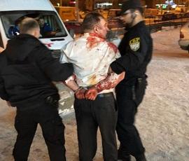 Очевидцы: в петербургском ресторане задержали окровавленного дебошира