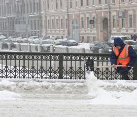 """В Петербурге """"поморозит"""" в начале недели"""