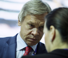 """Пушков ответил на обвинения вице-премьера Украины о """"кремлевской руке"""""""