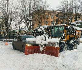 Московский циклон не связан с петербургским снегопадом