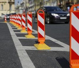 В дороги Петербурга укатают 469 миллионов на разметку