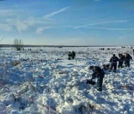 В Москву доставили генетический материал родных жертв крушения Ан-148