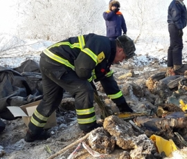 Обломки Ан-148 передали на экспертизу