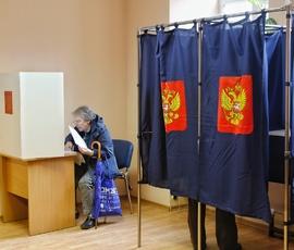 Петербурженка предложила выбрать президента РФ в храме