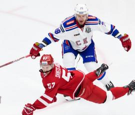 СКА одержал 25-ю победу в КХЛ