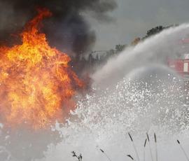 Семья из Урала лишилась дома, но осталась жива после взрыва газа