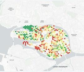 Качество уборки Петроградского района попало на интерактивную карту студентов ИТМО