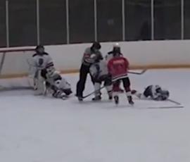 В Ленобласти после матча родители хоккеистов избили арбитра