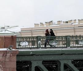 """Петербург """"пожелтеет"""" от холода в воскресенье и покроется льдом"""