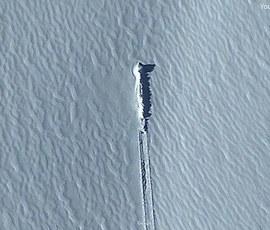 Охотники за инопланетянами нашли НЛО в Антарктиде