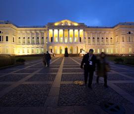 Внутренние дворы Русского музея перестроят для инвалидов