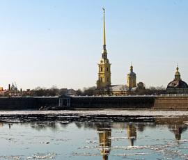 Петербург согреется в среду