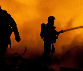 На Освобождения спасателям удалось спасти квартиру от огня