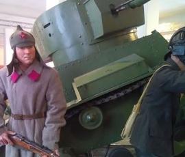 В Ленобласти открыли первую в России объемную диораму о советско-финляндской войне