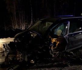 В Ленинградской области в тройном ДТП погиб человек