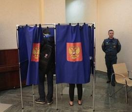Выборы президента: кто проголосовал в Петербурге