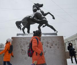 В Петербурге после выборов повалит мокрый снег