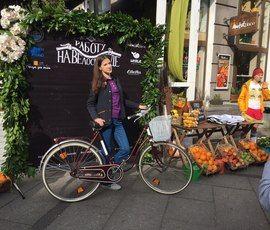 Петербуржцы пересели на велосипеды