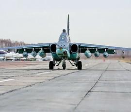 Штурмовик Су-25 назвали в честь погибшего в Сирии летчика