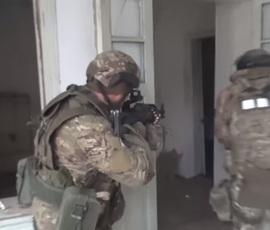 Контртеррористическую операцию в Дагестане сняли на видео