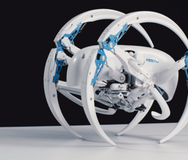 Ученые создали роботов летучей лисицы и паука