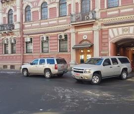 С генконсульства в Петербурге сняли американский флаг