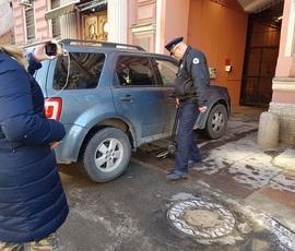 Комиссия по приемке здания осмотрела освобождаемое генкоснульство США в Петербурге