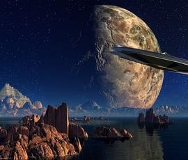 Инопланетяне посеяли среди землян панику своими НЛО