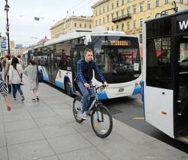 Троллейбус № 7 меняет маршрут из-за ремонта Биржевого моста