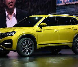 Фото нового кроссовера от Volkswagen попали в сеть