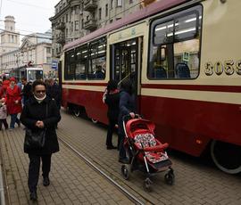 Скоро в Петербурге появится новая линия скоростного трамвая
