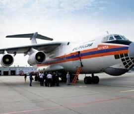 С помощью самолета МЧС больных детей доставят в Петербург