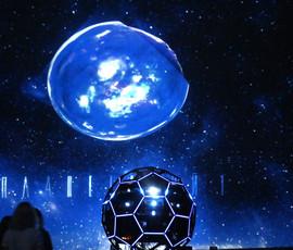 В День космонавтики открылась выставка в самом большом планетарии Петербурга