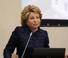 За год доходы Матвиенко составили 23 млн рублей