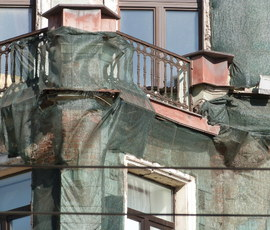 В Петербурге из-за ЧМ-2018 заморозят реставрацию зданий
