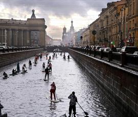 Канал Грибоедова на месяц закроют для теплоходов из-за ЧМ-2018