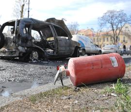 В Приморском районе ночью горели Opel и ВАЗ